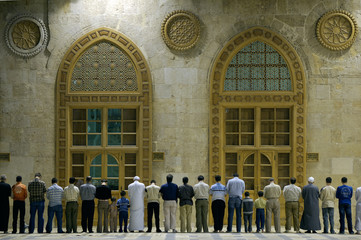 Muslims say prayes, Syria,  #1