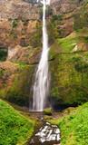 Multnomah falls columbia river poster