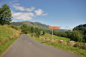 route du cantal