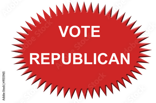 Republican Vote Sticker