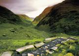 wales gwynedd snowdonia national park the pyg track poster