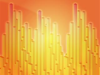 Abstract illustration wallpaper of 3d geometric columns