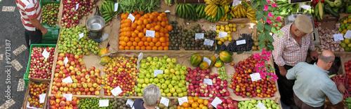 Keuken foto achterwand Boodschappen Marché à Madère (Portugal)