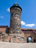 Nuremberg fortifications, Kaiserberg. Europe, Germany. poster