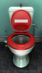 Toilettes interdites