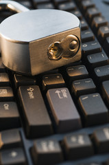 Lock on Keyboard.