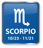 Scorpio Astrology Sign poster