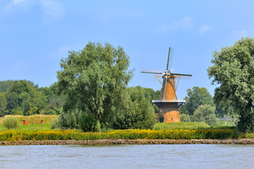 Windmill De Hoop in Gorinchem Holland