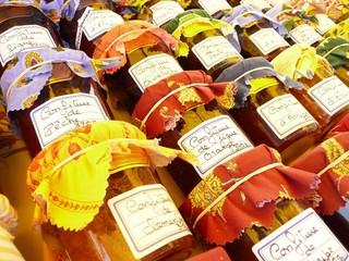 Confitures de Provence et Languedoc - Jam jars France