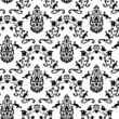 Vector. Seamless Classicism pattern