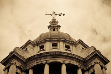 Criminal Courts, London UK