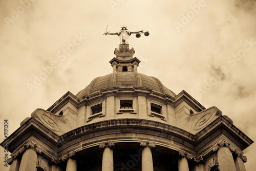 Criminal Courts, London UK Poster