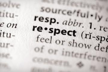 """respect"". Many more word photos in my portfolio...."