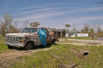 Ruinen nach Katrina