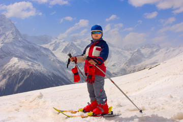 The Baby Skier