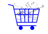 shopping cart, formula poster
