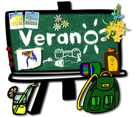 VERANO EN EL COLE