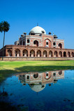 Humayun's Tomb and reflection, New Delhi, India