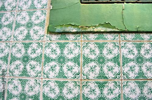 Bord de fen tre caill carreaux de c ramique verte br sil by bruno bernie - Carreaux de ceramique mural ...