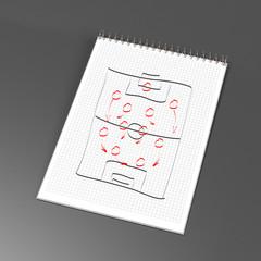 Notizblock - taktik - spielplan 02