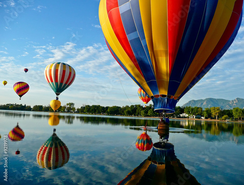 Foto op Plexiglas Luchtsport Hot Air Balloons