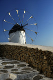Traditional windmill, Mykonos