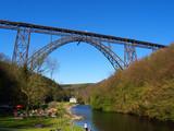 Fototapety Müngstener Brücke und Wupper
