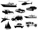 All Vehicles Vector Grafic