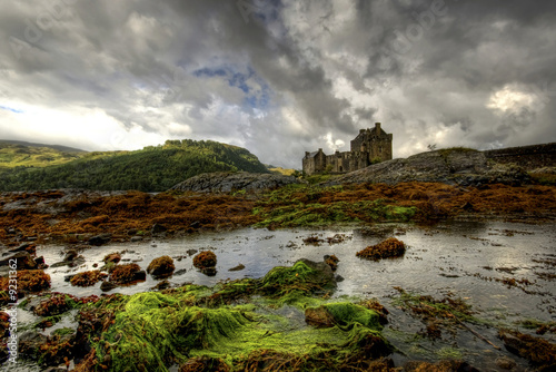 fototapete schottland schloss schloss zentral europa. Black Bedroom Furniture Sets. Home Design Ideas