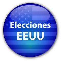 """Boton """"Elecciones EEUU"""""""