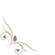 vecteur série - décoration vectorielle florale sur fond blanc