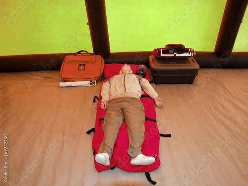model of the person for training of the first medical aid