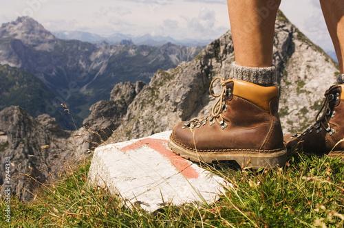 Österreich, Salzburger Land, Bergsteiger