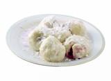 tasty plum dumplings poster