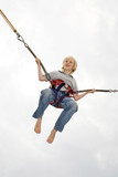 Boy (10-12), bungee jumping