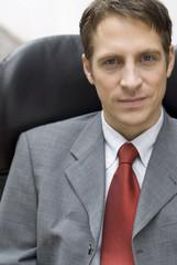 Portrait der Geschäftsmann im Büro