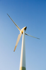 Windturbine, close-up