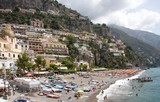 Positano in season, Italy