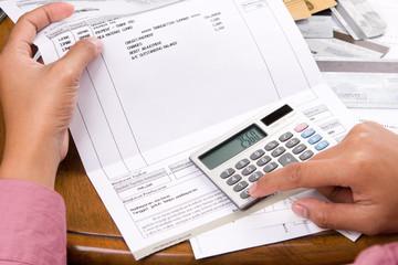 Calculating the bills