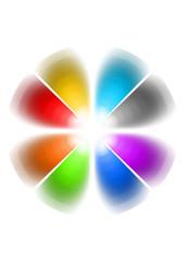 gradazione di colori