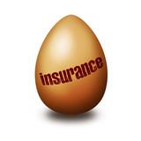 Insurance egg poster