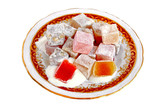 Turkish Delight plate poster