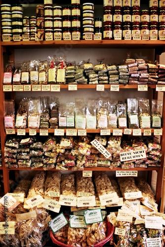 Keuken foto achterwand Boodschappen Food Store