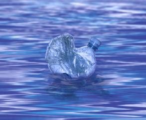 Bottiglia in acqua
