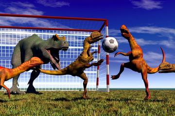 football dinosaur