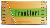 Fototapety Ticket-Frankfurt