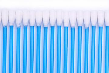 Blue Cotton Swabs