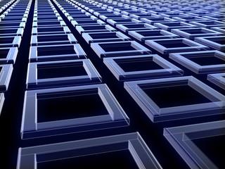 blue_parallel_cubes_in_dark_scene