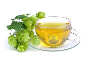 Tee Hopfen - tea hop 01