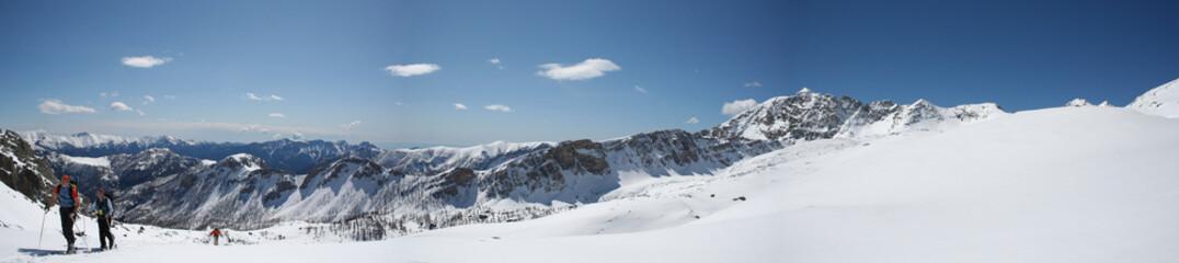 Ski de randonnée dans le Mercantour